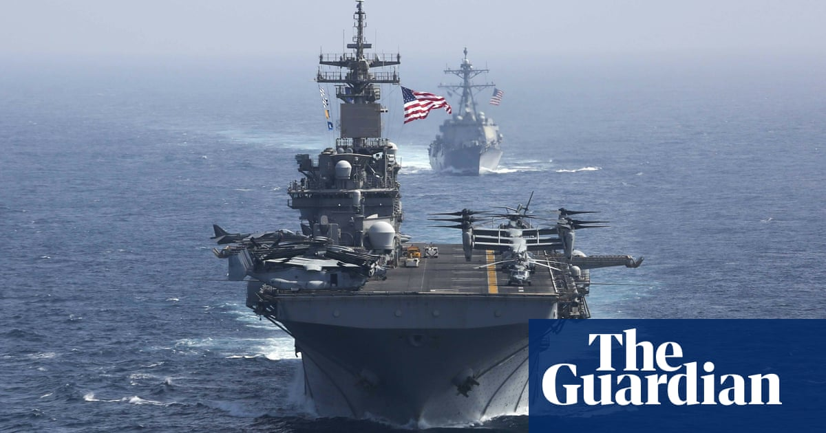 US plans coalition of military allies to patrol waters off Iran and Yemen | World news