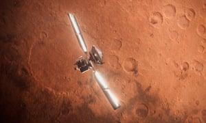Mars, yesterday.