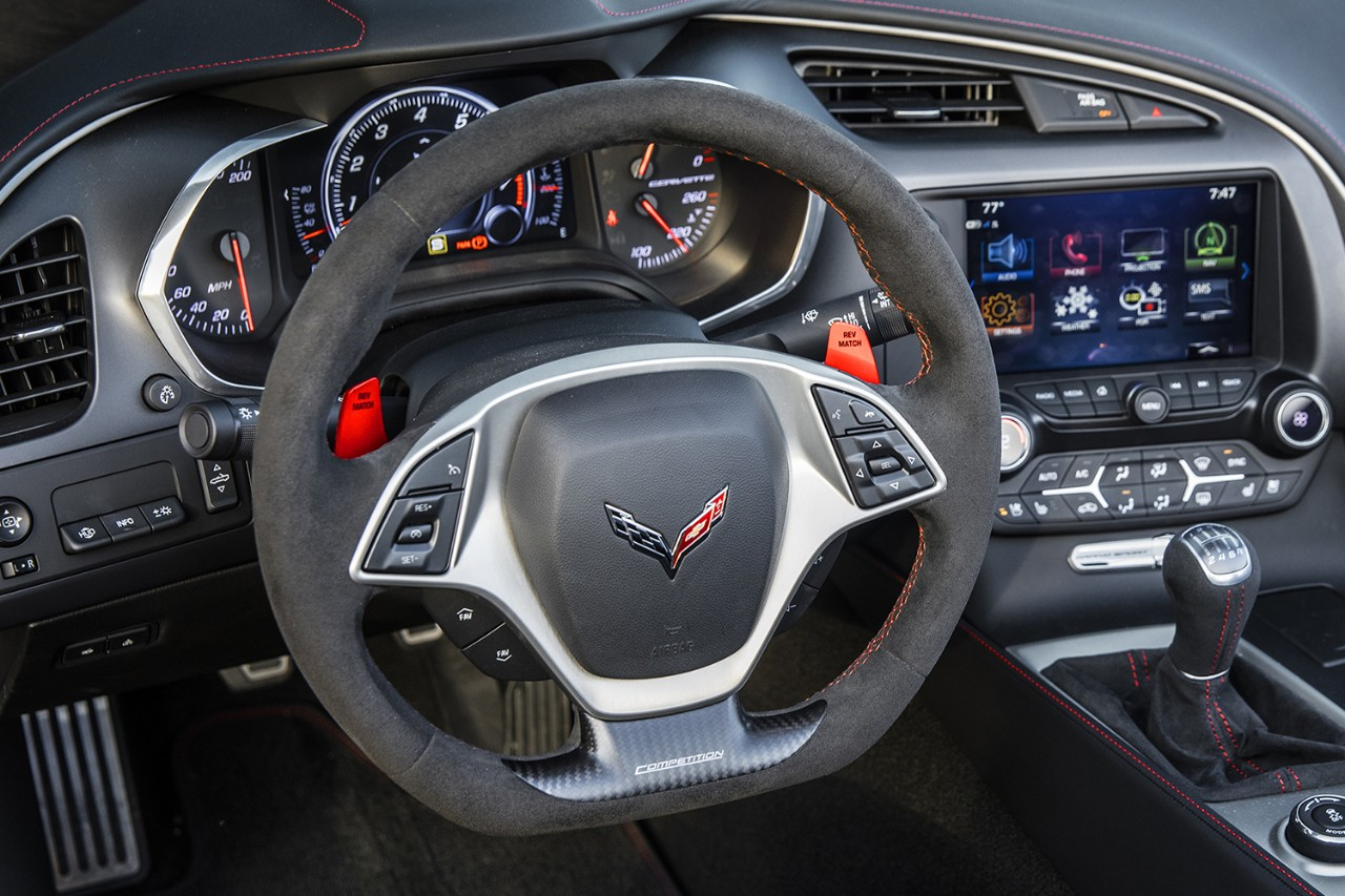 corvette seventh gen steering wheel