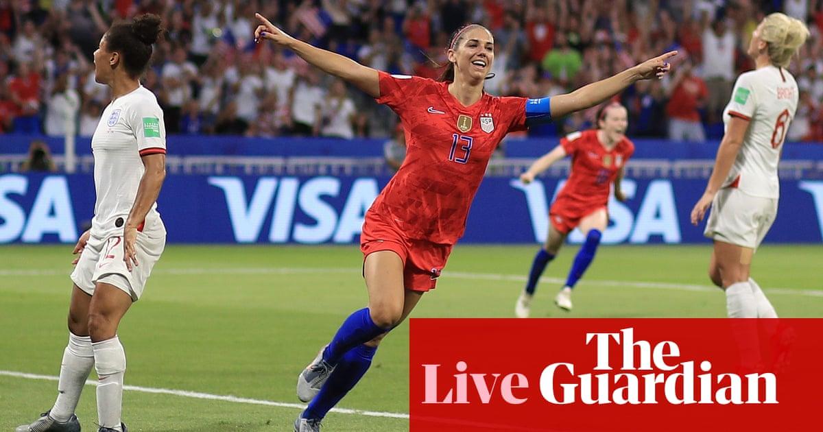 England v USA: Women's World Cup 2019 semi-final – live! | Football