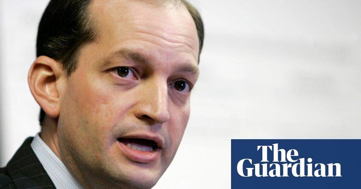 Lawmakers push for labor secretary's resignation over Epstein plea deal | US news