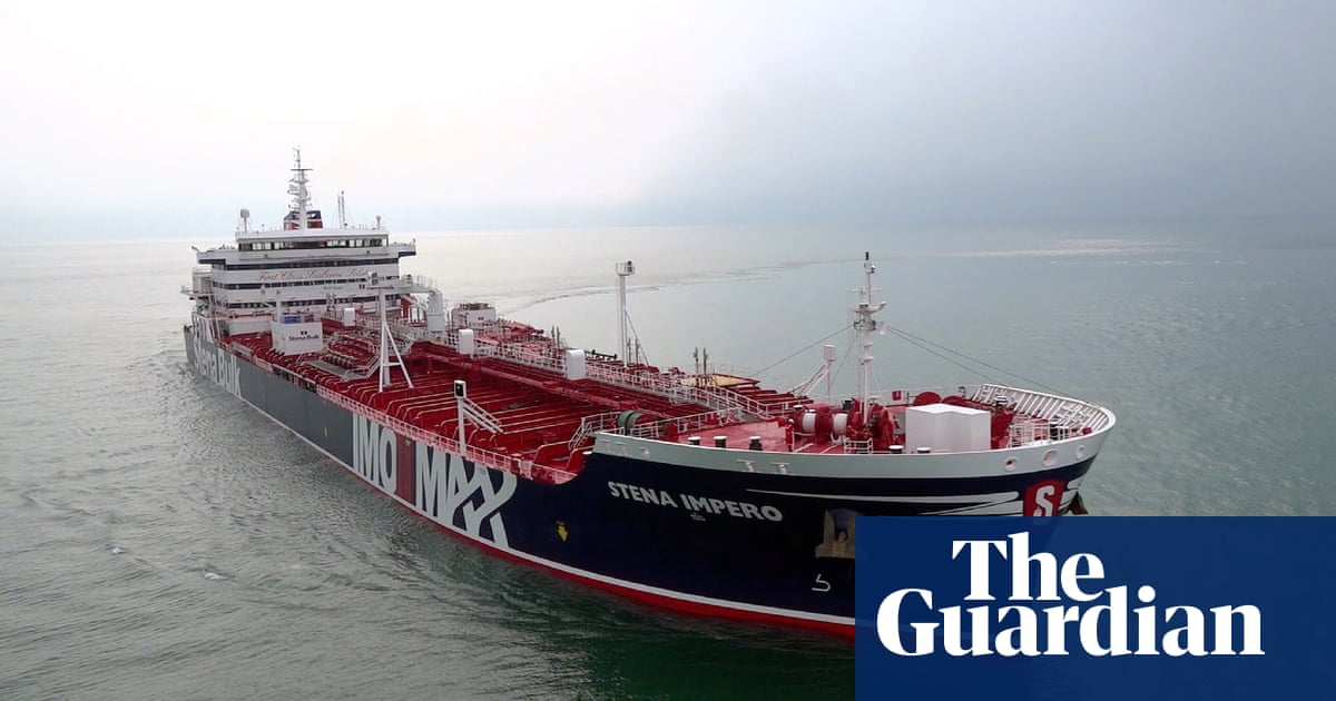 Iran stokes Gulf tensions by seizing two British-linked oil tankers | World news