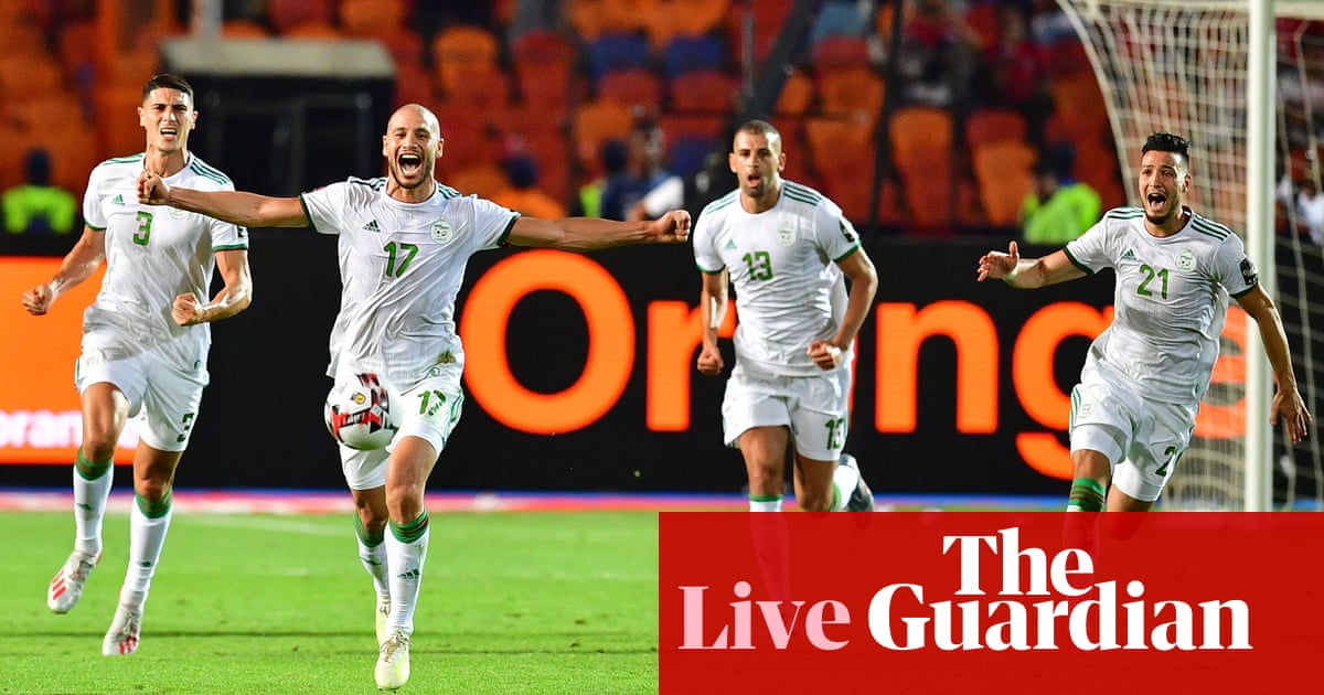 Senegal 0-1 Algeria: Africa Cup of Nations 2019 final – as it happened | Football