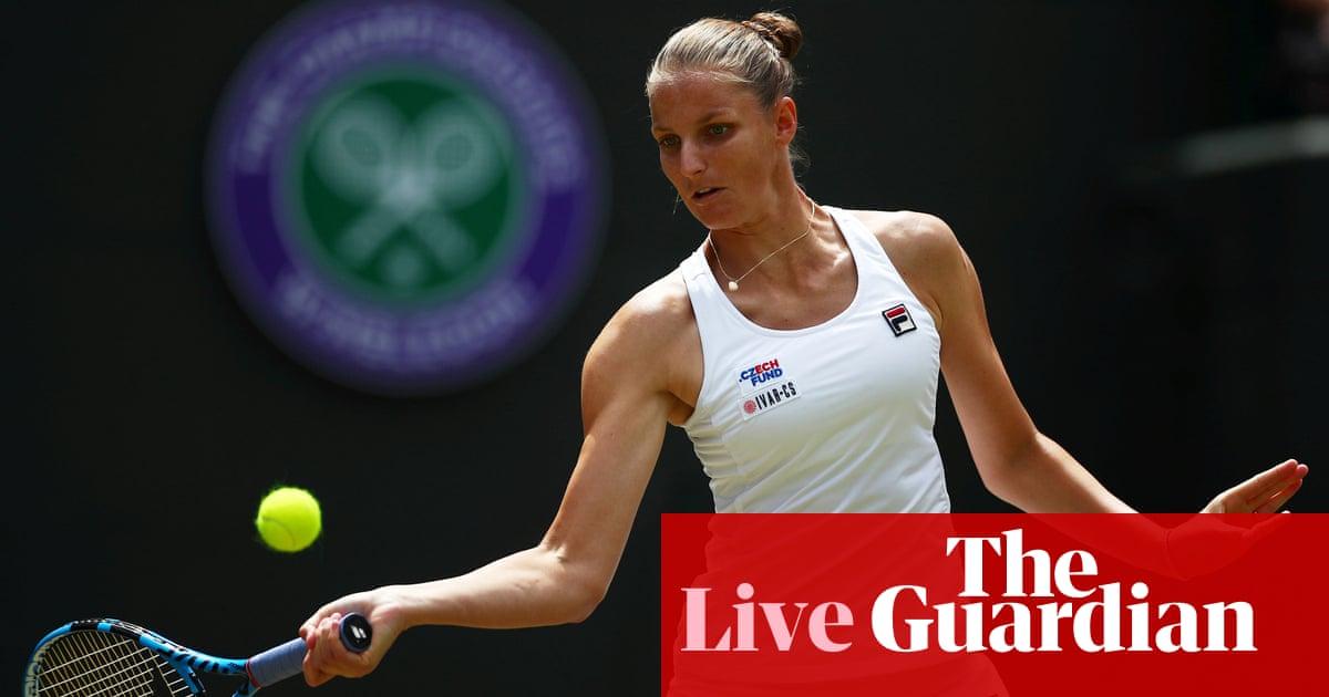 Wimbledon 2019: Svitolina, Gauff and Djokovic in action, Wozniacki out – live! | Sport