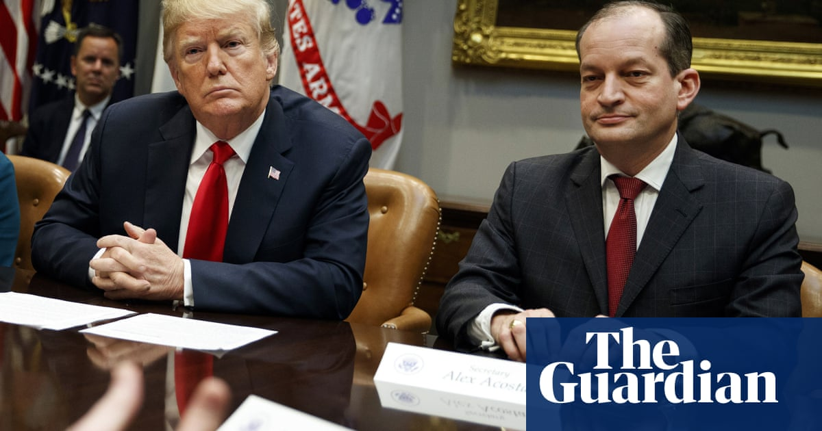 Trump 'feels badly' for labor secretary amid calls for resignation over Epstein case | US news