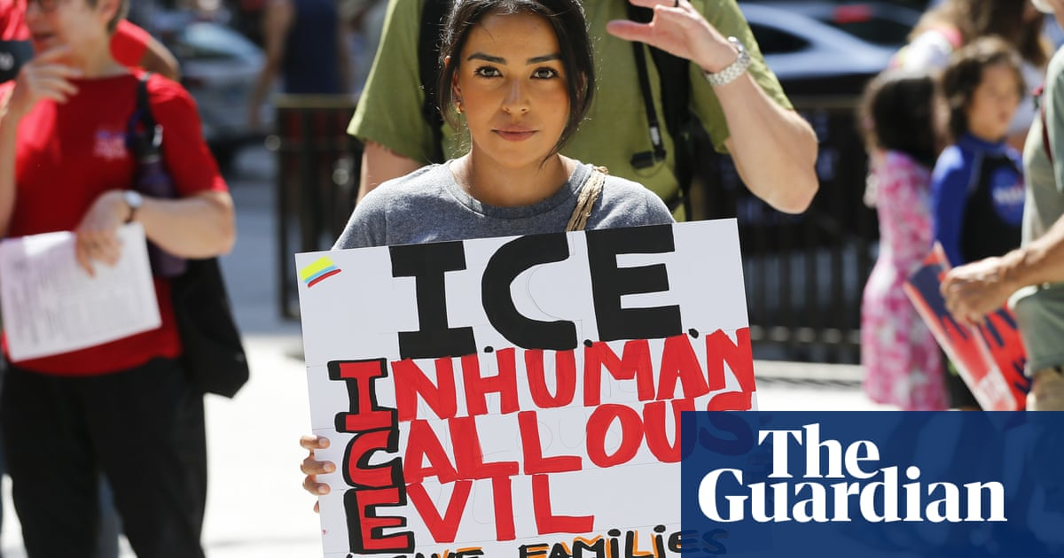 Prospect of immigration raids across US spark anxiety, anger and protests | US news