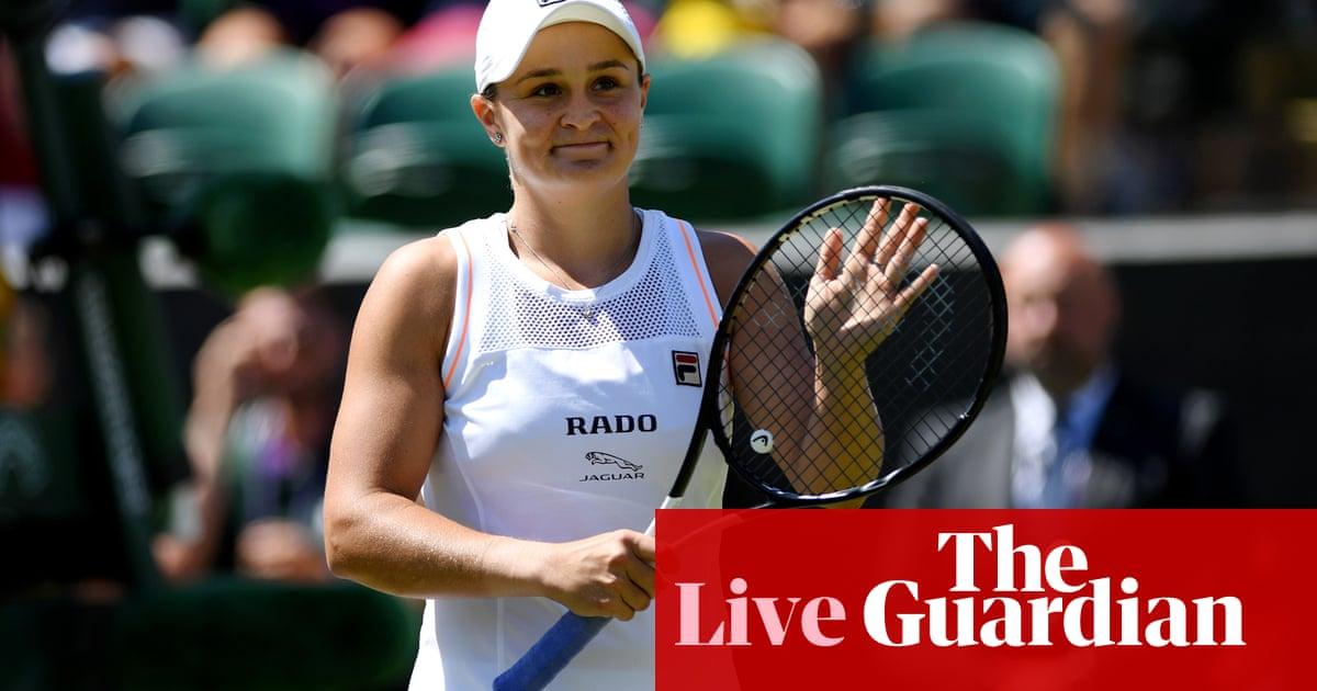 Wimbledon 2019: Barty beats Van Uytvanck, Dart v Haddad Maia and more – live! | Sport
