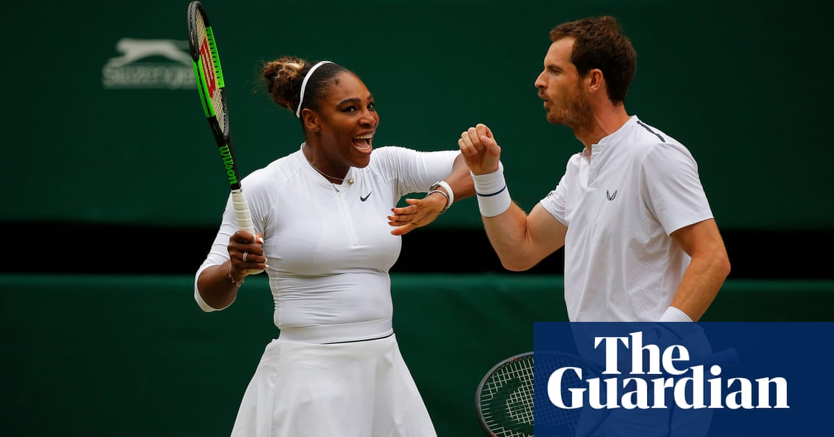 Andy Murray and Serena Williams to play mixed doubles No 1 seeds after win | Sport