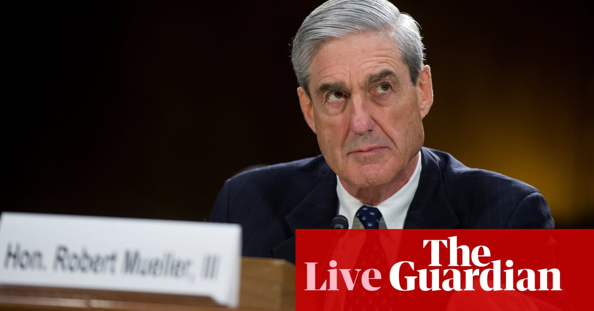 Mueller testimony: expectation builds in Washington for 'explosive' hearing – live | US news