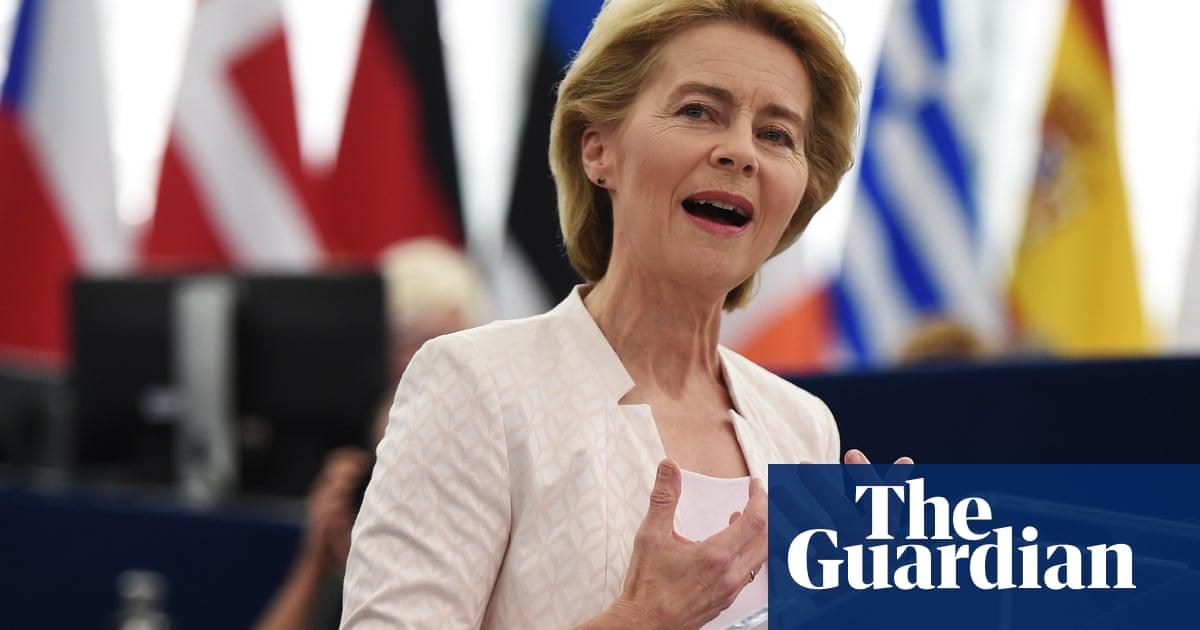 Ursula von der Leyen elected first female European commission president   World news