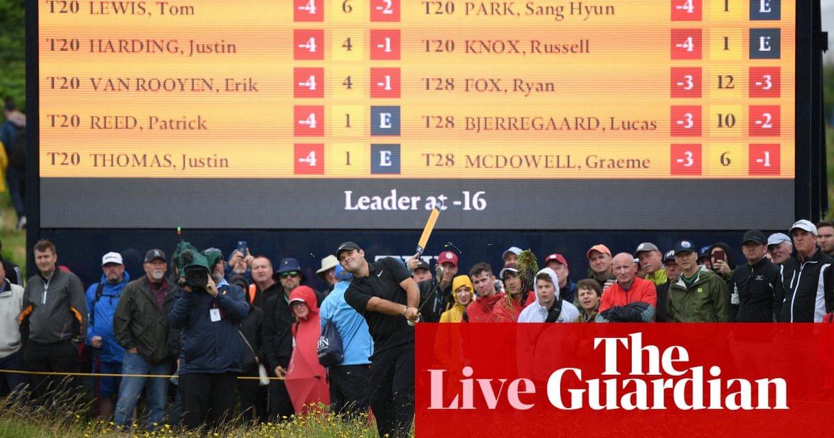 The Open 2019: fourth round – live! | Sport