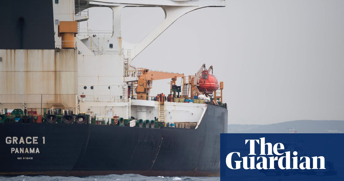 UK may help release Iranian oil tanker if it gets Syria guarantee | World news
