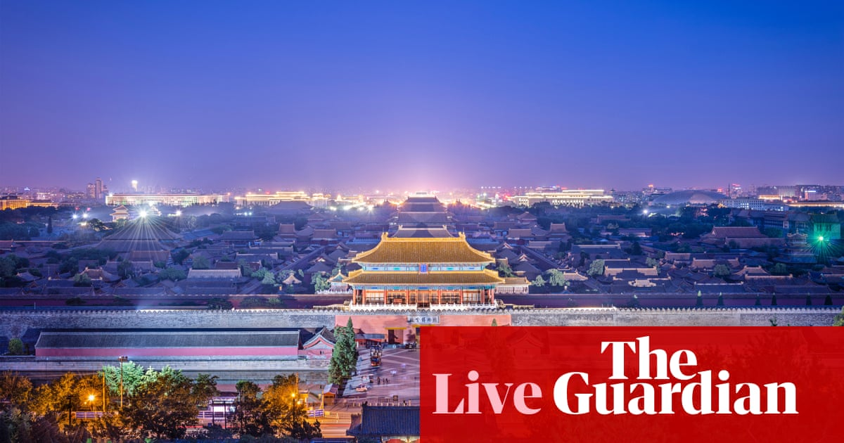 China's growth rate hits 27-year low as trade war drags on - business live | Business