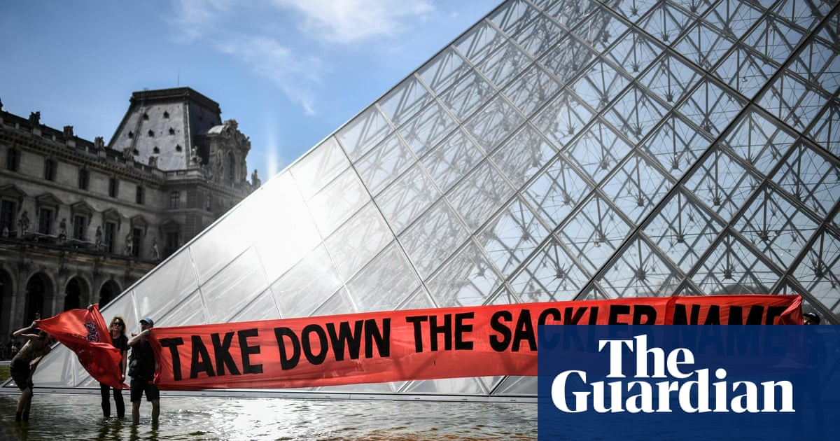 Louvre removes Sackler name from museum wing amid protests | Society