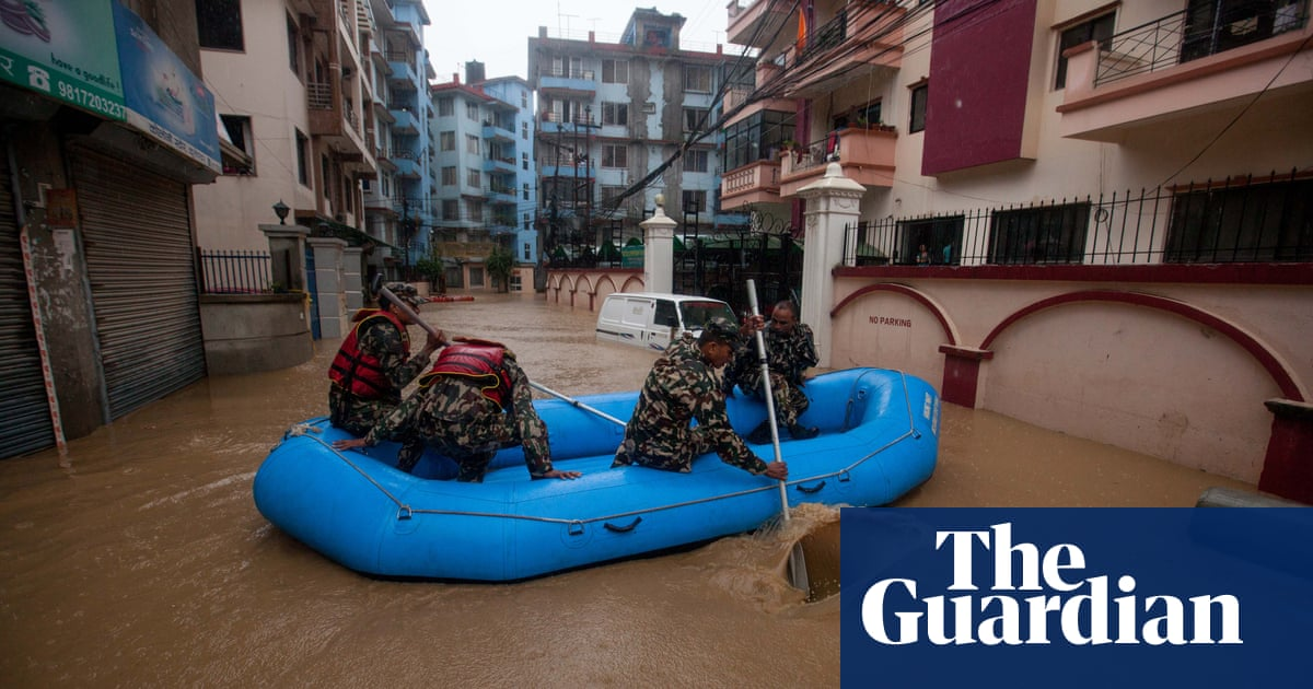 Death toll from floods in south Asia rises to more than 100 | Environment