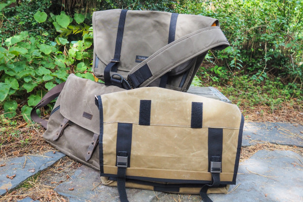 Waxed canvas messengers from Trakke, Waterfield, and Mission Workshop are spacious and rugged – TechCrunch