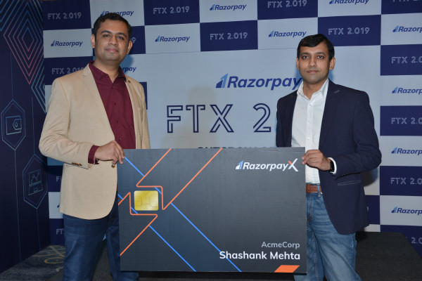 India's Razorpay launches corporate credit cards, current accounts support in major neo banking push – TechCrunch