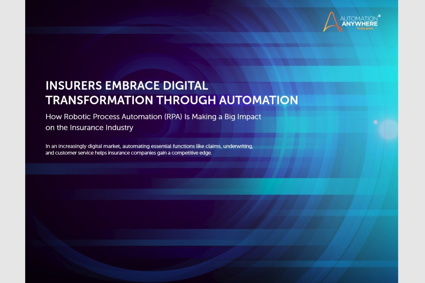 [Whitepaper] Insurers embrace digital transformation through automation
